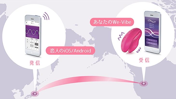 スマホで操作可能リモコンバイブ We-Vibe4+(ウィーバイブ4)と We-Vibe Sync(ウィーバイブシンク)徹底比較